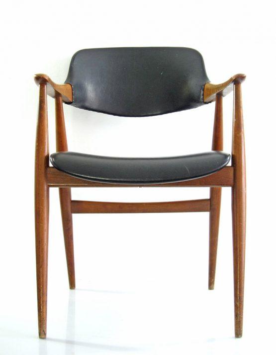 Finn Juhl, Erik Kirkegaard style vintage Danish chair