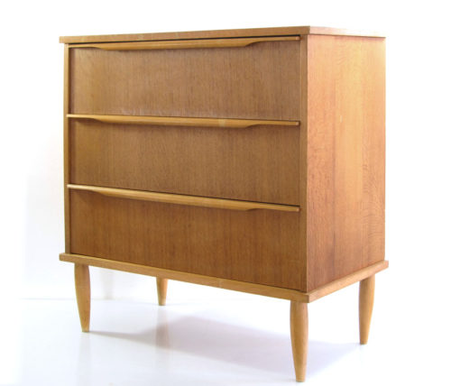 Cees Braakman Pastoe style vintage chest of drawers