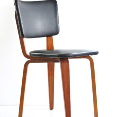2 Cor Alons retro mid century plywood dining chairs