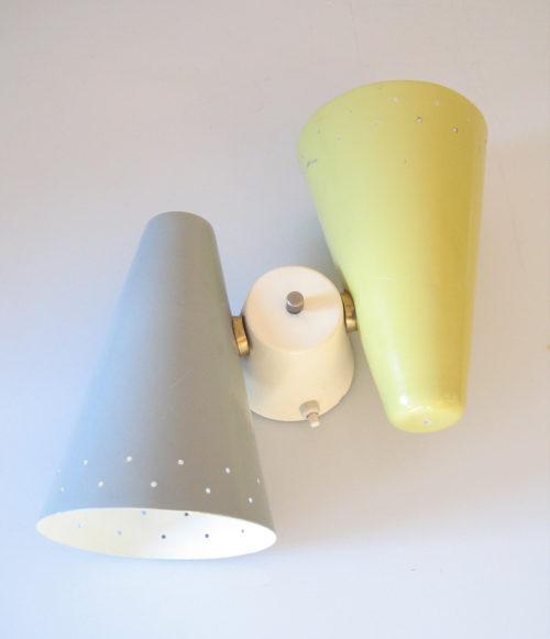 Anvia vintage fifties retro sconce wall lamp