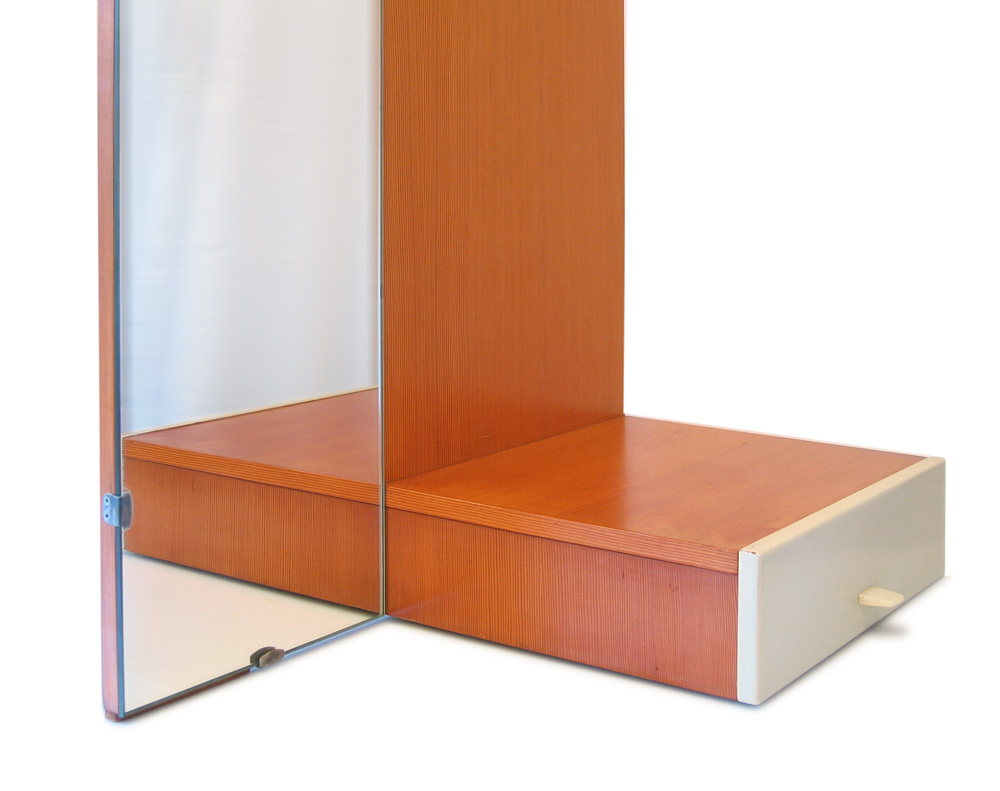 Cees Braakman, Pastoe mirror with drawer