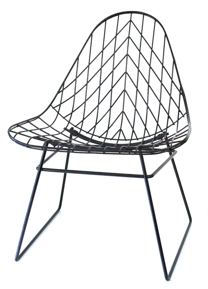 Cees Braakman Metal Wire Pastoe Vintage Sixties Lounge Chair Bdf