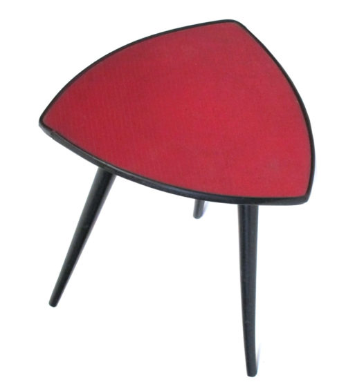 Fiffties triangular vintage side table