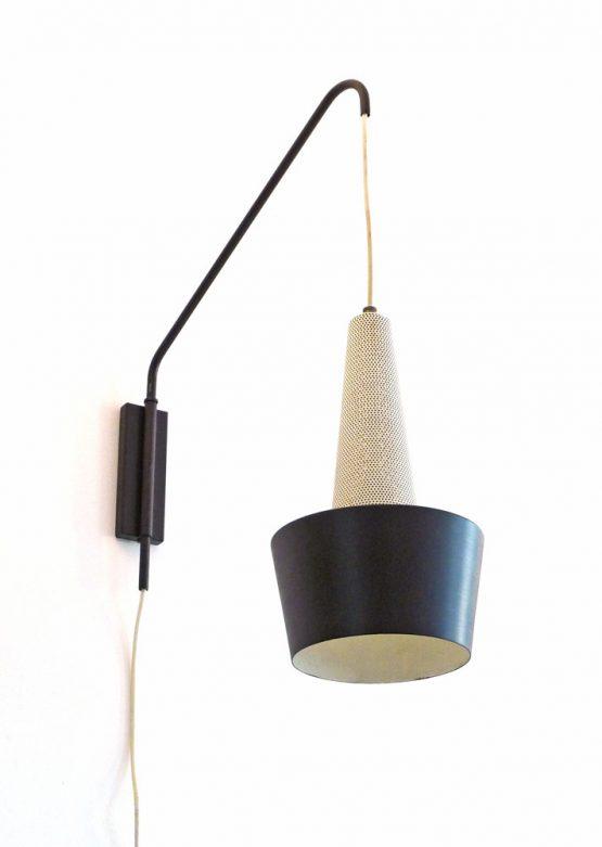 Vintage Louis Kalff Philips fifties wall lamp