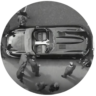 """New """"E"""" Type Jaguar (1961)"""