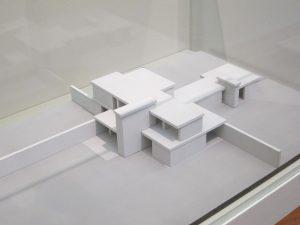 Gerrit Rietveld in the Gemeente Museum Den Haag