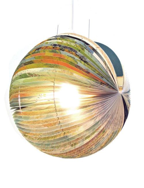 globe book lamp