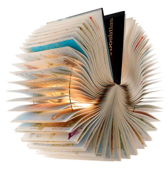 book lamp recycled