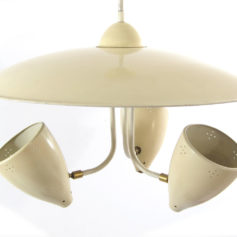 H. Busquet sixties vintage retro hanging lamp