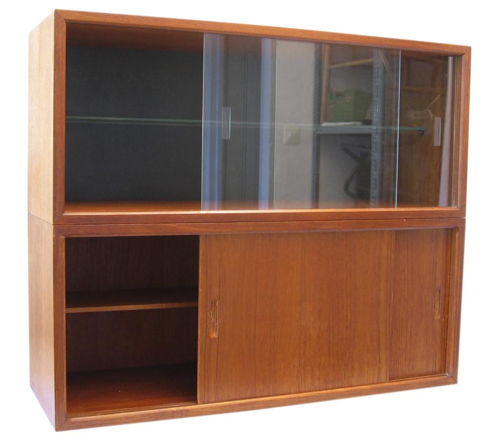 2 Poul Cadovius vintage cabinets