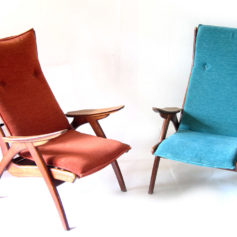 Danish chairs organic fifties relax chairs