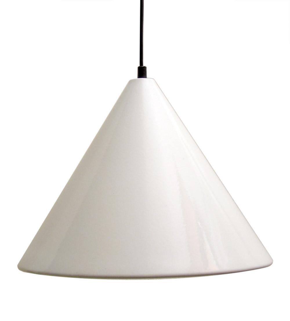 Arne Jacobsen Louis Poulsen 1960s vintage enamel pendant lamp; eames, vintage, fifties, henningsen, Aalto, Tapiovaara, Tynell, Kukkapuro
