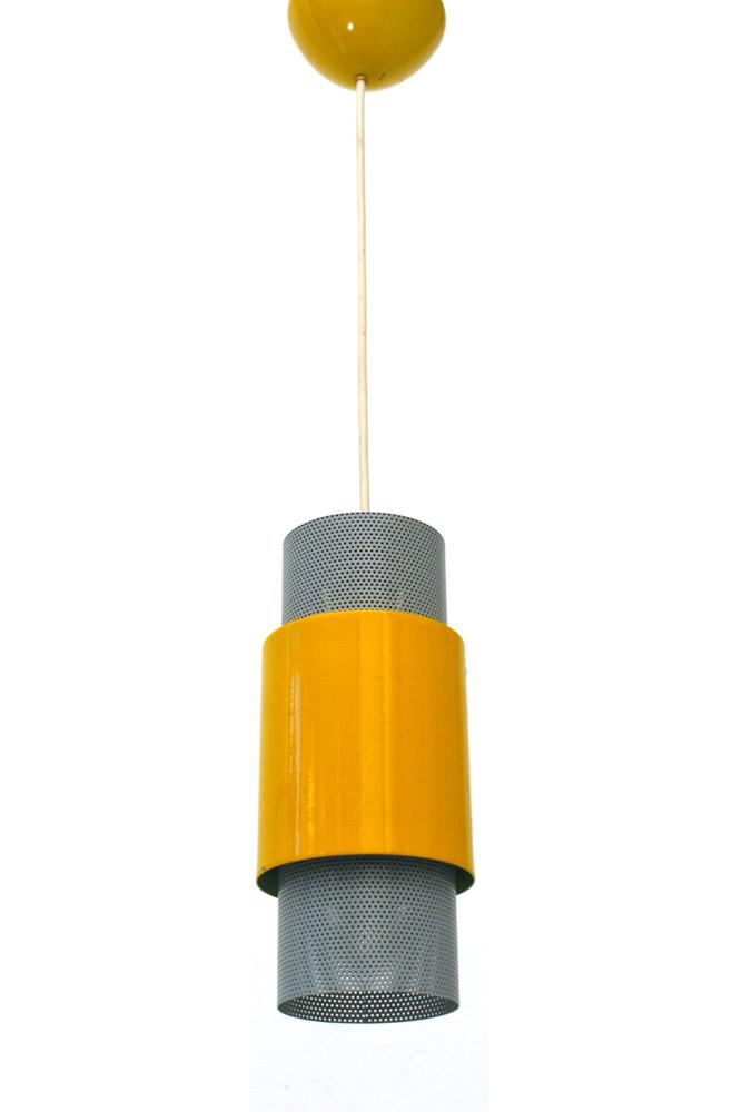 Tjerk Reijenga, Pilastro fifties vintage pendant lamp