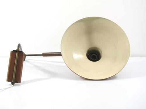 Adjustable Fifties swivel arm design lamp