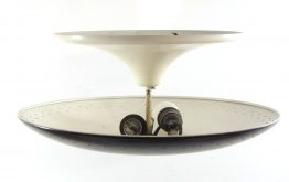 Fifties lamp metal vintage ceiling light