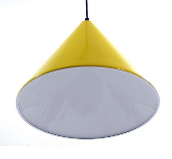 Arne Jacobsen Lamp Louis Poulsen 1960s vintage enamel Billiard pendant; Eames, sixties, Henningsen, Aalto, Tapiovaara, Danish, Scandinavian.