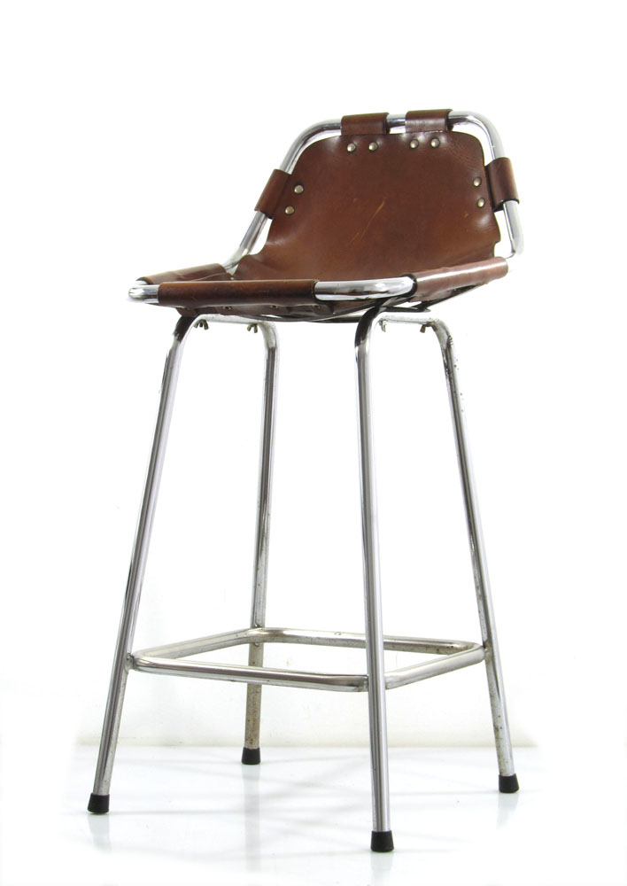 Charlotte Perriand Les Arcs Bar Stool Sixties Vintage Eames Braakman Friso Kramer Aalto