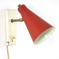 Red spot fifties adjustable lamp
