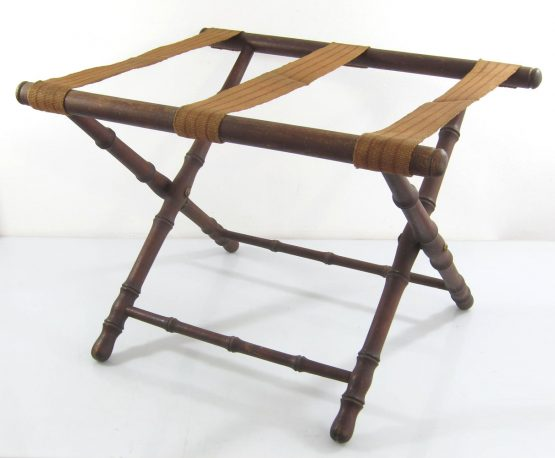 Safari chest stand collapsible antique