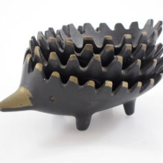 Walter Bosse Hedgehog Ashtrays vintage bowls