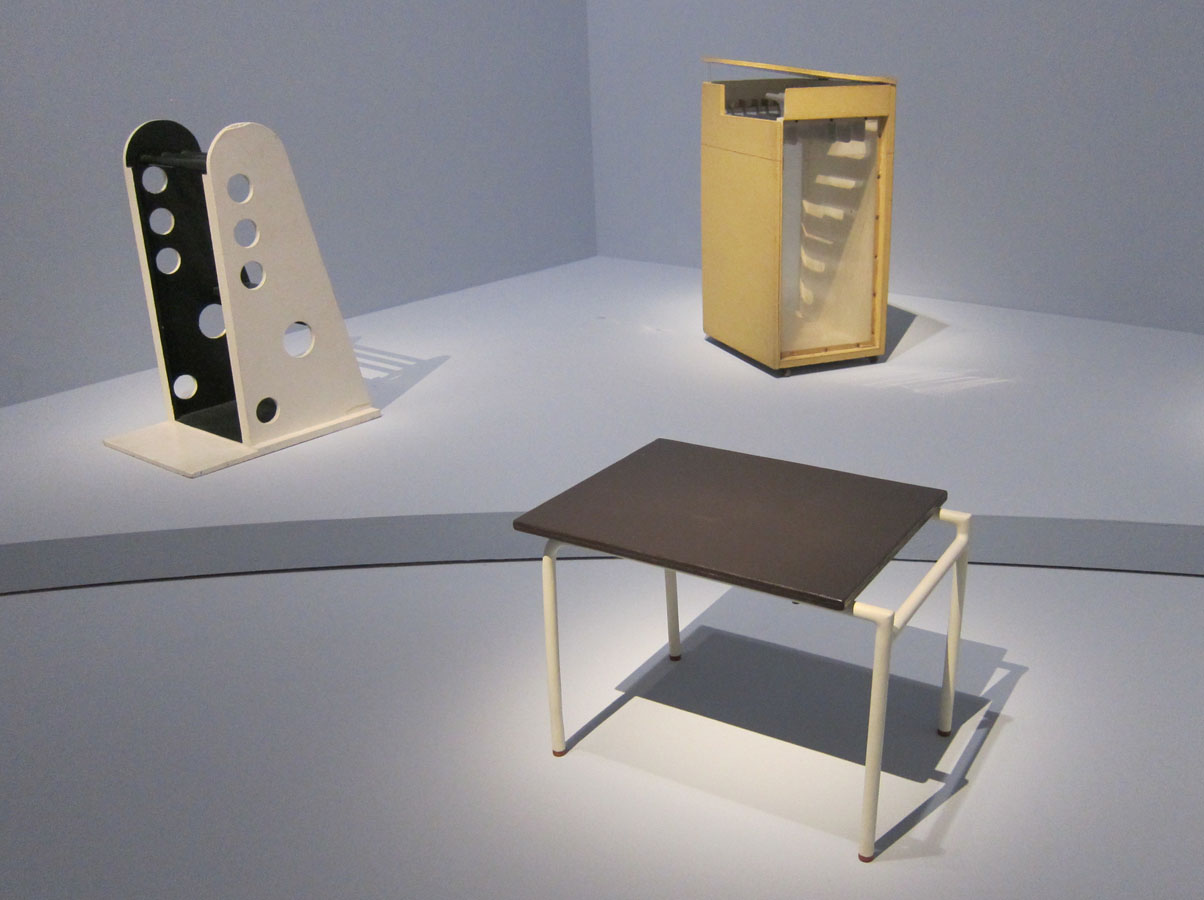 Eileen Gray exhibition in Center Pompidou - bom Design Furniture