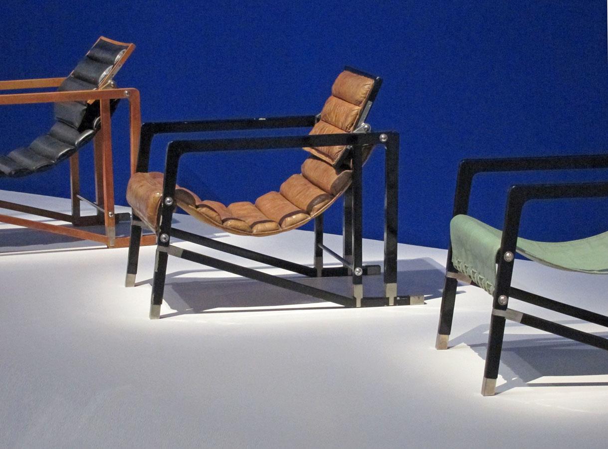 Eileen Gray exhibition in Center Pompidou - bom Design Furniture