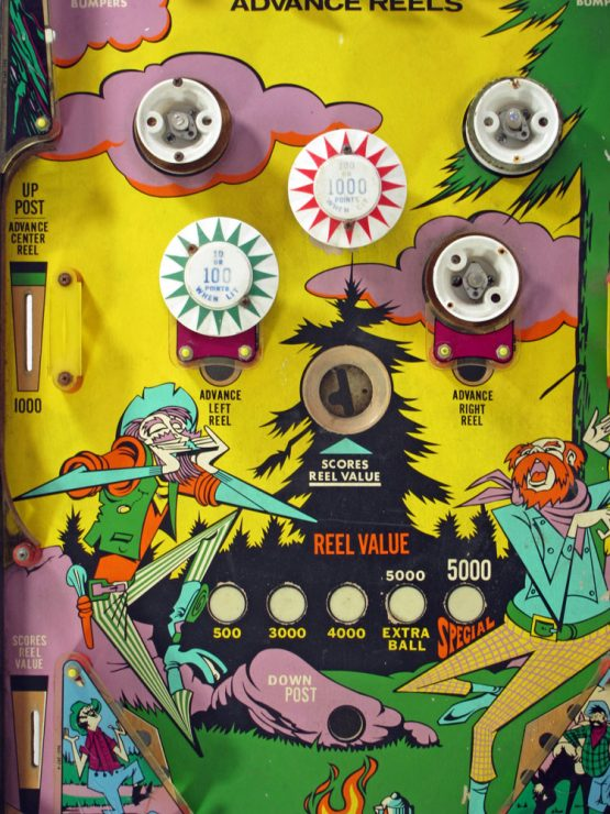 "70s pinball flipperkast - cool vintage design art from the seventies ""Williams"" retro, disco, arcade game, machine, flippers"