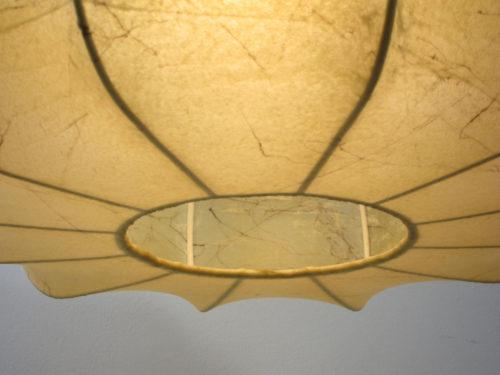Cocoon pendant, Achille & Pier Castiglioni, Flos, vintage, George Nelson, Gino Sarfatti, colombo, fifties, sixties, viscontea, Verner Panton
