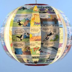 Sylvester & Tweety – comic book lamp