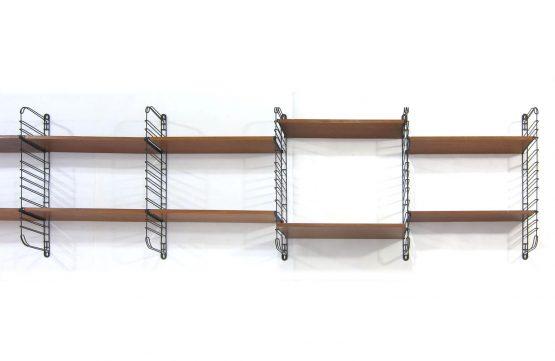 Large Tomado shelf system - Mid century mategot style