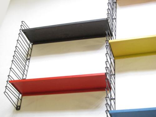 Large modernistic Tomado shelf system Mategot style