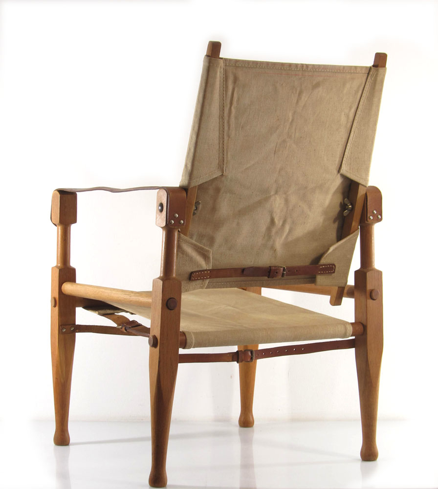 Wilhelm kienzle vintage safari chair bom design furniture for Bom design furniture