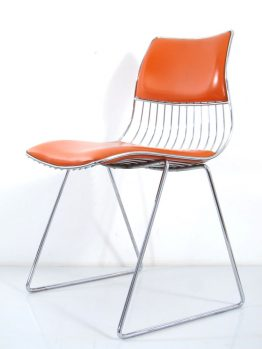 Seventies Pop Rudi Verelst Dining Chair for Novalux