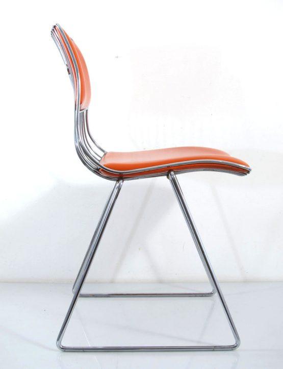 Seventies Pop Rudi Verelst Dining Chair for Novalux