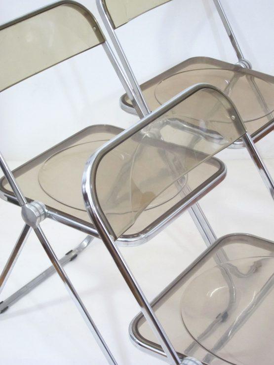 Plia chairs by Giancario Piretti for Castelli