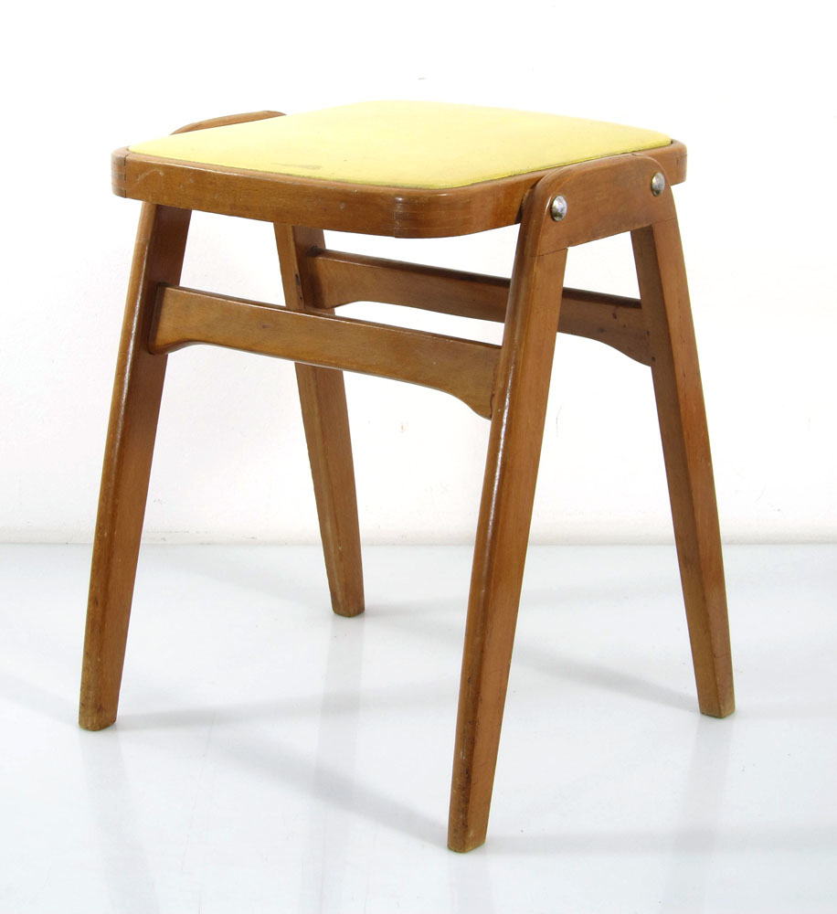 Mid century vintage centa stacking stool bom design for Bom design furniture