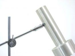 Peter Nelson style 60s aluminium desk lamp