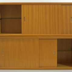 Poul Cadovius sixties Danish Royal Wall System modular cupboards
