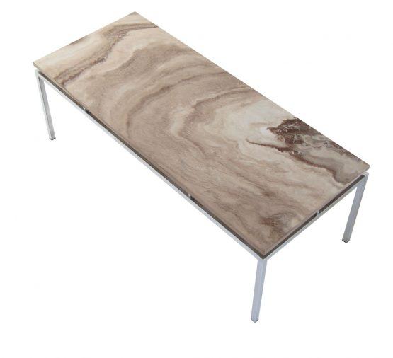 marble coffee table stiemsma 1960s kjaerholm mies rohe marcel breuer midcentury design vintage