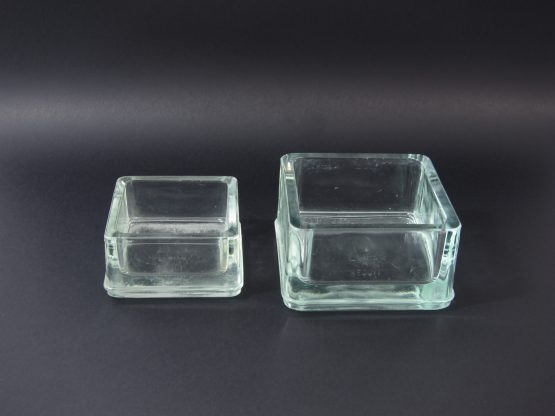 Vintage Desk Tidys by Le Corbusier & Charlotte Perriand for Lumax, 1950s, Set of 2