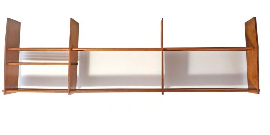 Mid-Century Plywood Kitchen Shelf Unit, 1950s, Tomado, Pilastro, Poul Cadovius, String, Finn Juhl