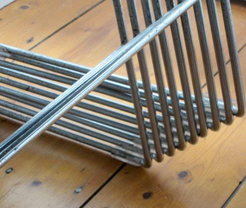 11 x David Rowland 40/4 vintage retro design chairs