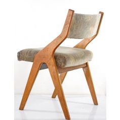 4 Fifties Vintage Dining Chairs; Friso Kramer, Alvar Aalto, Jeanneret, Rietveld, Prouve, Charlotte, Perriand, Corbusier, Plywood, Mategot