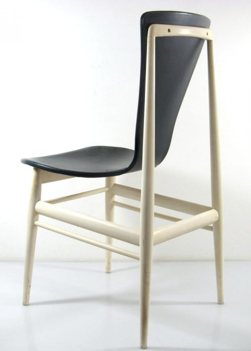 Mid-Century Organic Plywood Dining Chairs by Inger Klingenberg for Fristho, Set of 6