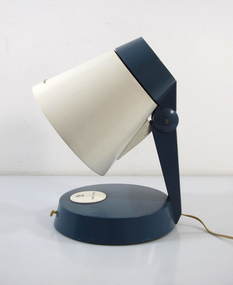 louis kalff vintage philips table lamp