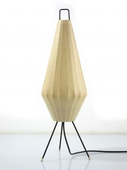 Castiglioni Cocoon vintage table lamp, Achille & Pier, Flos, George Nelson, Gino Sarfatti, Colombo, Bauhaus, Fifties, Sixties, Viscontea