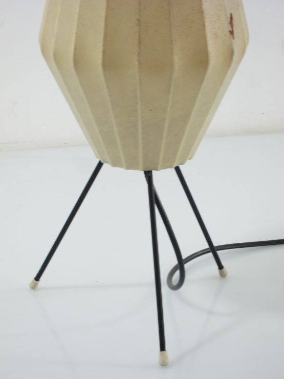 Castiglioni Cocoon vintage table lamp, Achille & Pier, Flos, George Nelson, Gino Sarfatti, Colombo, Bauhaus, Fifties, Sixties, Viscontea-2