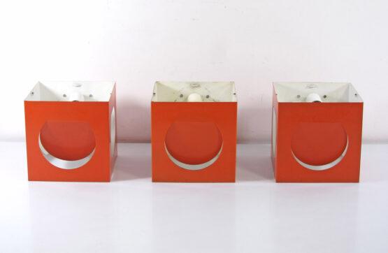 Stockmann Orno orange vintage Shogo Suzuki lamps