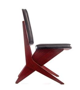 FB18 Scissor chair Jan van Grunsven Pastoe 1950