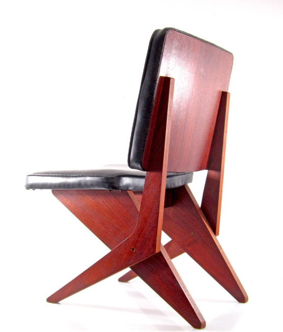 FB18 Scissor chair Jan van Grunsven Pastoe 1950